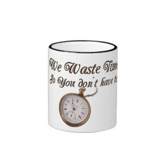 Wasted Time Ringer Mug