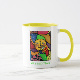 Wasted Time - Time Pieces Mug