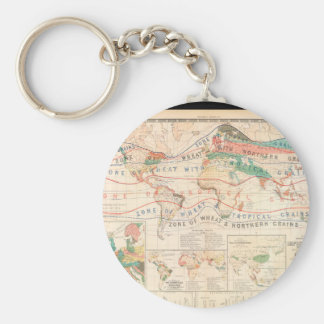 Wasted World Map 29 Keychain