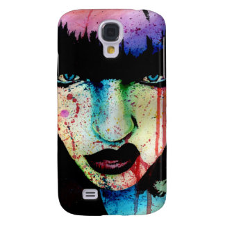 Wasted Youth - Punk Rock Rainbow Horror Portrait Samsung S4 Case