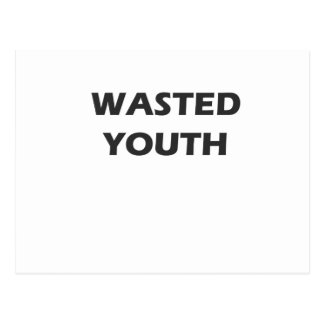 Wasted Youth Rebellion Postcard
