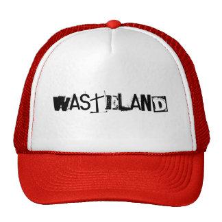 WASTELAND CUSTOM CAPS BY WASTELANDMUSIC.COM TRUCKER HAT
