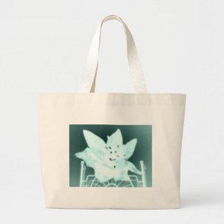 Wasteland Goth Flower Canvas Bags