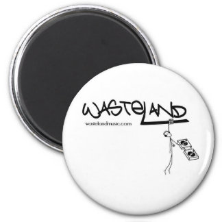 Wasteland logo magnet
