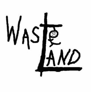 Wasteland logo photo sculpture