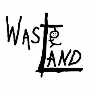 Wasteland logo photo statuette