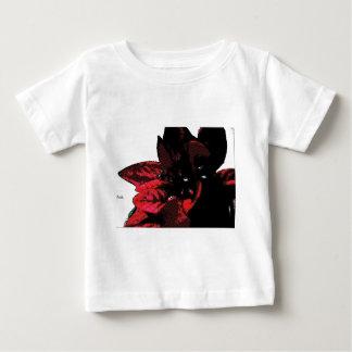 Wasteland red goth flower baby T-Shirt