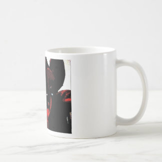 Wasteland red goth flower classic white coffee mug