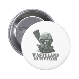 Wasteland Survivor Pinback Button