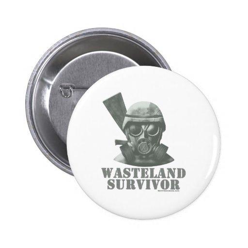Wasteland Survivor Pins