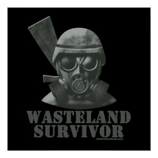 Wasteland Survivor Poster