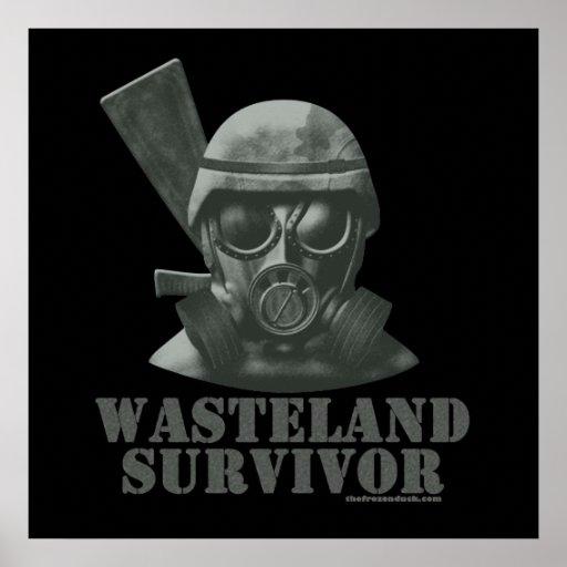 Wasteland Survivor Poster