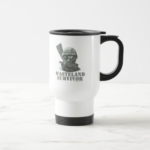 Wasteland Survivor Travel Mug
