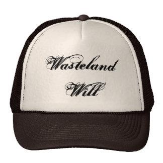 Wasteland Will CUSTOM HATS BY WASTELANDMUSIC.COM