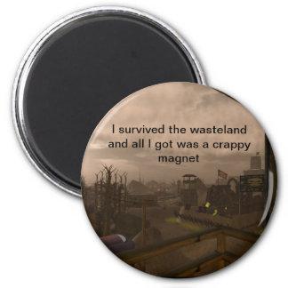 Wastelander joke magnet