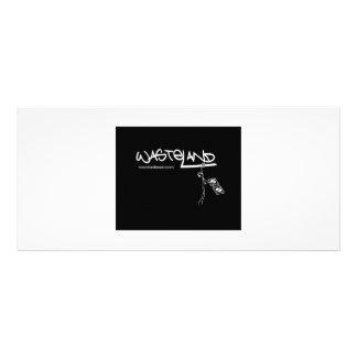 WASTELANDMUSIC.COM LOGO CUSTOM RACK CARDS