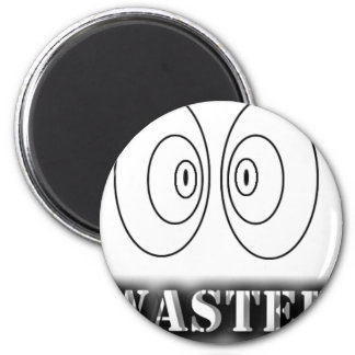 Waster Branded 2 Inch Round Magnet