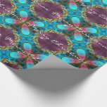 Wasterfall Christmas Modern Elegance Wrapping Paper