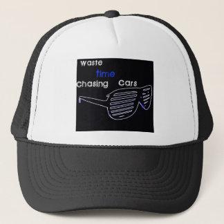 WasteTimeChasingCars Trucker Hat