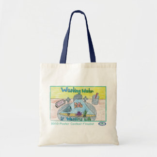 Wasting Water is Wasting Life Tote Bag