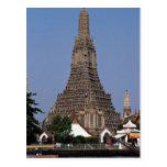 Wat Arun, Bangkok, Tailandia Tarjeta Postal