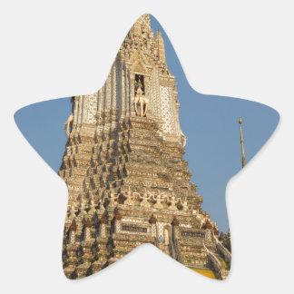 Wat Arun temple in Bangkok Thailand Star Sticker