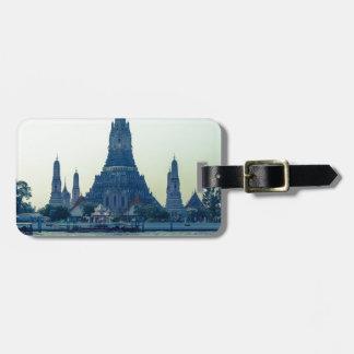 Wat Arun temple with River Thailand Bangkok Bag Tag