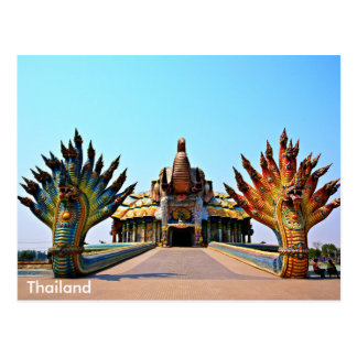 Wat Ban Rai, Korat, Thailand Postcard