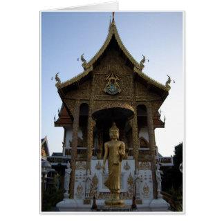 Wat Bhuppram Tarjeta De Felicitación