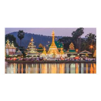 Wat Chong Khlong, Mae Hong Son, Thailand Card