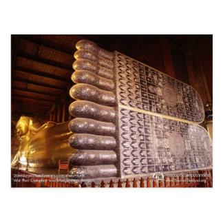 Wat Pho - UNESCO Memory of The World Postcard