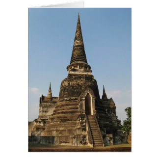 Wat Phra Si Sanphet ... Ayutthaya, Thailand Card