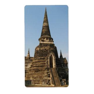 Wat Phra Si Sanphet ... Ayutthaya, Thailand Label