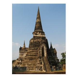 Wat Phra Si Sanphet ... Ayutthaya, Thailand Postcard