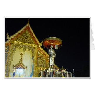 Wat Phra Singh at Night Card