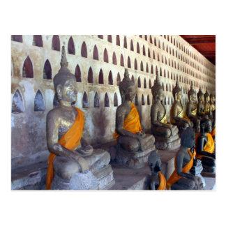 wat si buddhas postcard