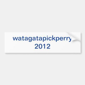 watagatapickperry pegatina de parachoque