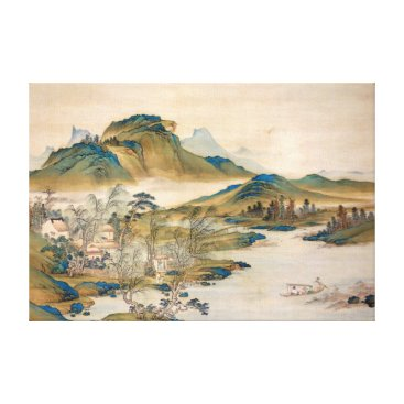 McTiffany Tiffany Aqua Watanabe Gentai A Retired Official's Homecoming Canvas Print