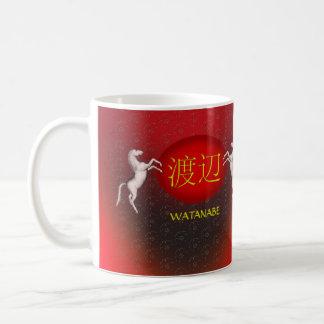 Watanabe Monogram Horse Coffee Mug
