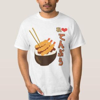 Watashi (I) Heart Tempura てんぷら T-Shirt
