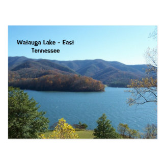 Watauga Lake in East Tennessee Postcard