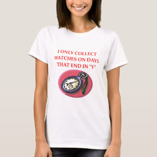 watch and clock collector T-Shirt