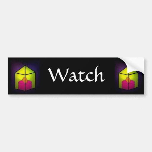 Watch Car Bumper Sticker