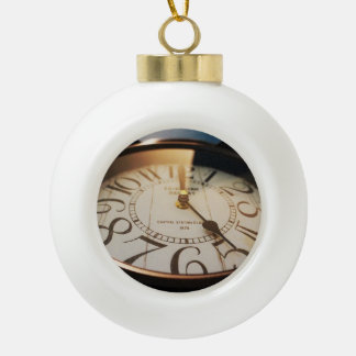 watch ceramic ball christmas ornament
