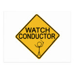 Watch Conductor Postcards