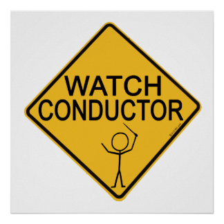Watch Conductor Print