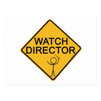 Watch Director Postcard