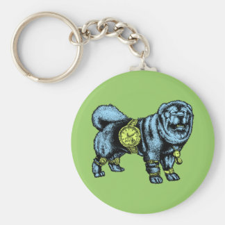 Watch Dog Keychain