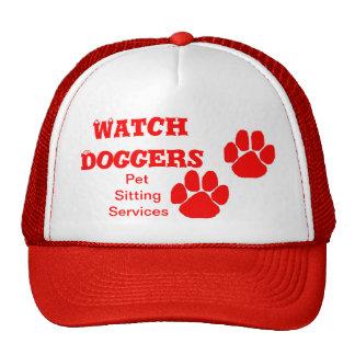 Watch Doggers Paw Print Trucker Hat