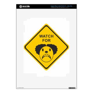 Watch For Clown iPad 3 Skin